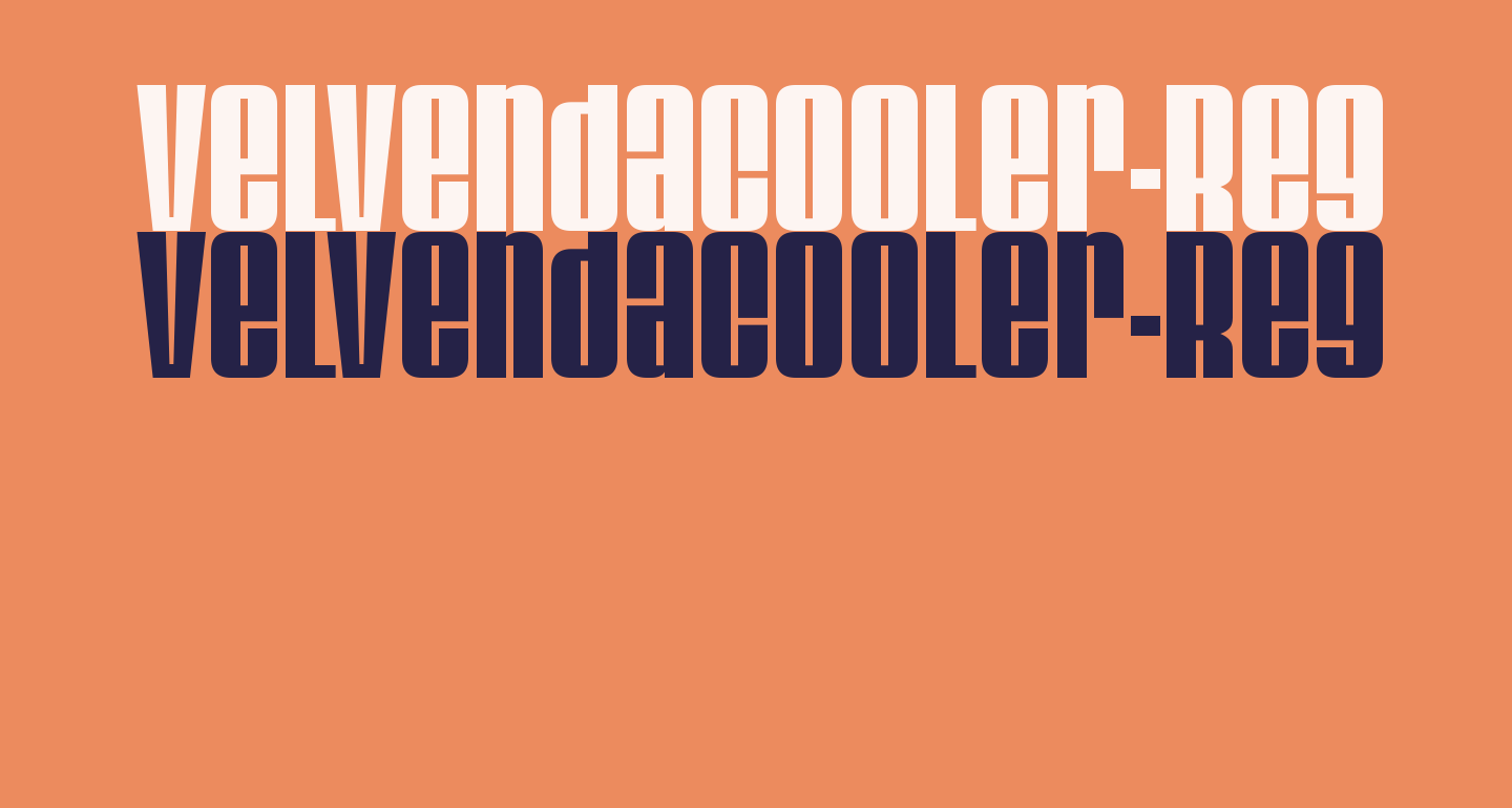 VelvendaCooler-Regular