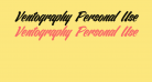 Ventography Personal Use Only