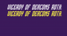 Viceroy of Deacons Rotalic