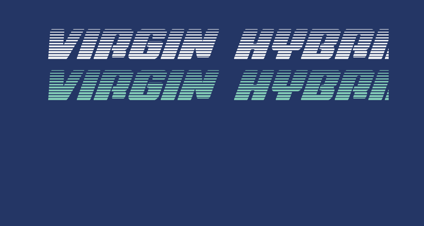 Virgin Hybrid Scanlines