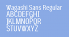 Wagashi Sans Regular