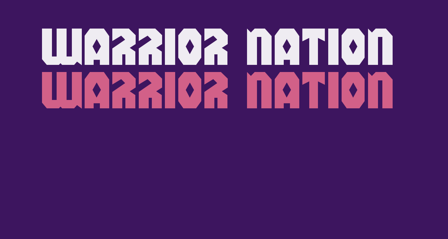 Warrior Nation Expanded