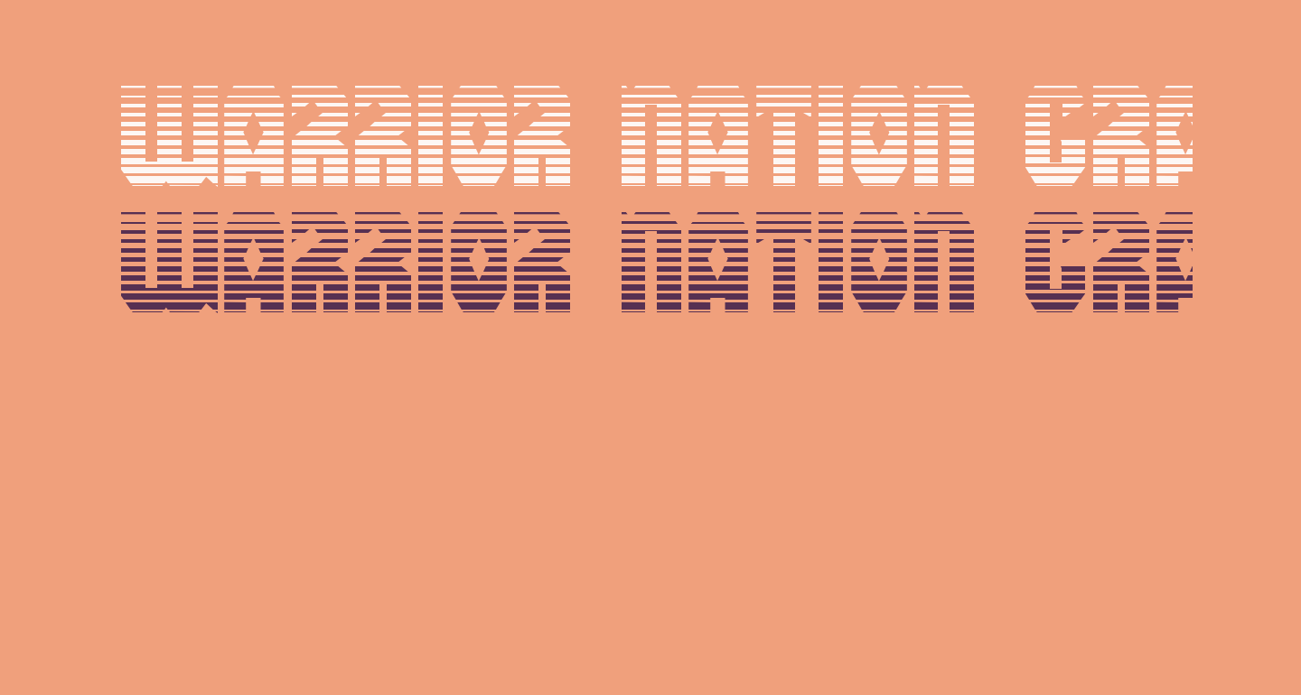 Warrior Nation Gradient Regular