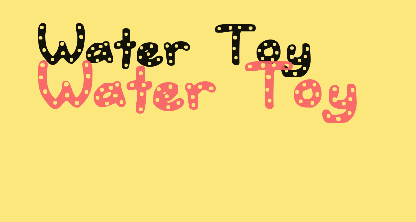 Water Toy