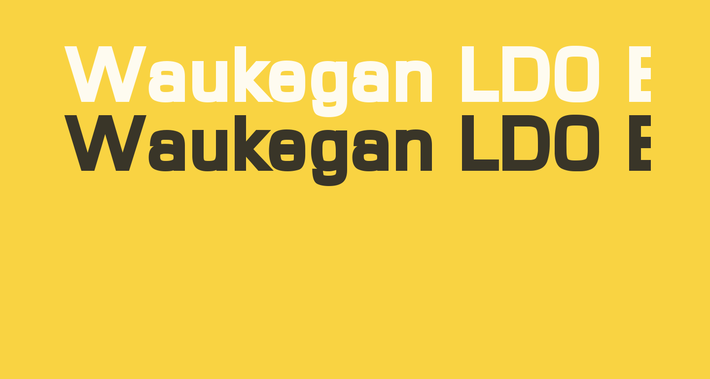Waukegan LDO Black