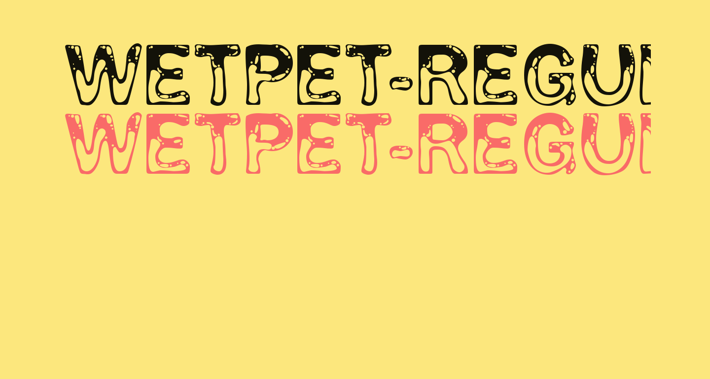 WetPet-Regular