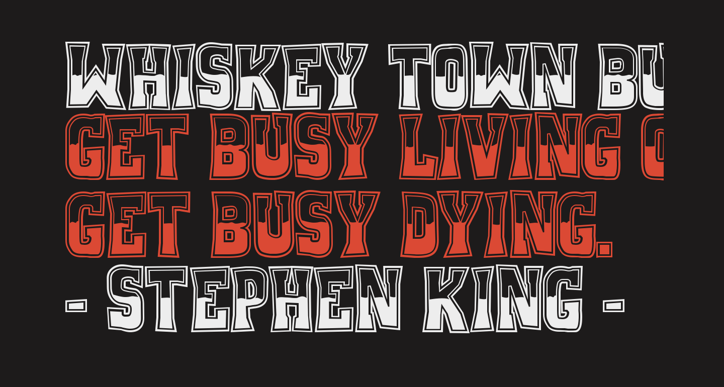 Whiskey Town Buzzed