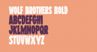 Wolf Brothers Bold