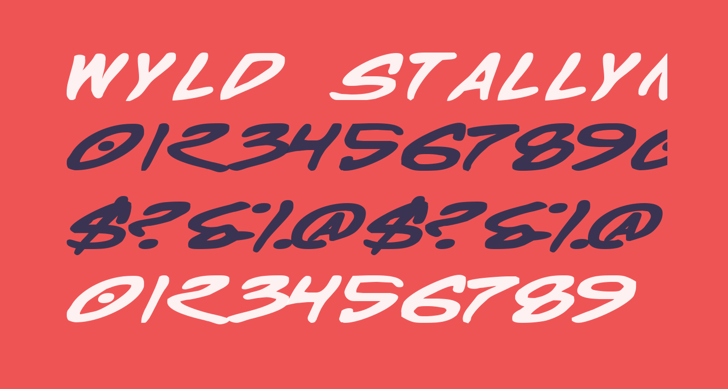 Wyld Stallyns Bold Extended