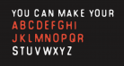 You Can Make Your Own Font