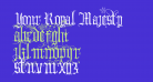 Your Royal Majesty