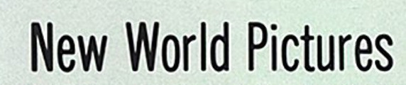 New World Pictures font from the 1980s.